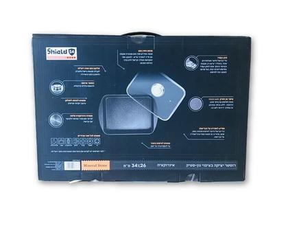 רוסטר יציקה ביצפוי נון סטיק סולתם | רוסטר לתנור | סיר גדול לתנור | תבנית צלייה עמוקה |