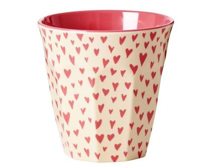 כוס מלמין טוטון לבבות קטנים | RICE DK | SOFI