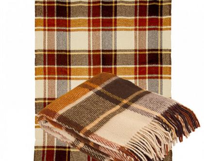 שמיכת צמר מרינו רכה כיסוי מיטה שמיכת טלוויזיה להגנה מהקור כרבולית לחורף עיצוב סלון שמיכת צמר שמיכה חורפית מתנה לאמא