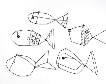 דגים דגים - עבודת חוטי ברזל