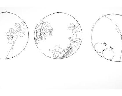 שבעת המינים - עבודת חוטי ברזל