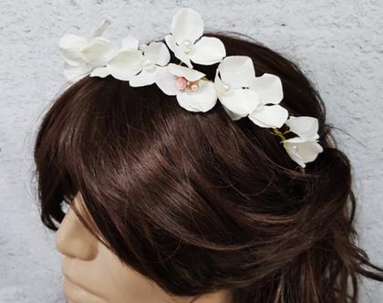 קשת פרחים , פרחים לשבועות, פרחים לבנים לשיער