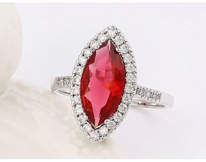 טבעת אבני חן