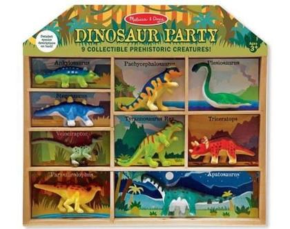 מארז בובות דינוזאורים מליסה ודאג