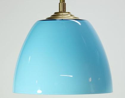 מנורת תקרה תכלת, מנורה תכולה