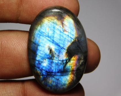 אבן לברדורייט אליפסה