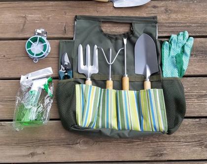 תיק וערכת כלי עבודה לגינה