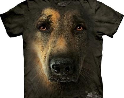 חולצת German Shepherd Portrait מבוגרים