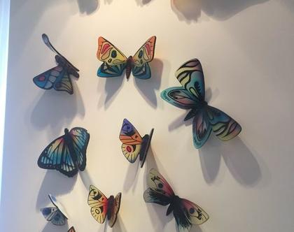 פרפרים מזכוכית