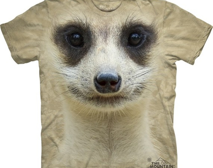 חולצת Meerkat Face מבוגרים