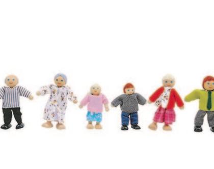 שישיית בובות משפחה
