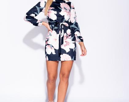 שמלת פרחים - תוצרת לונדון