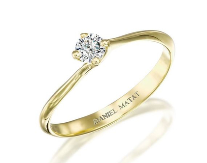 טבעת אירוסין יהלום / RA380