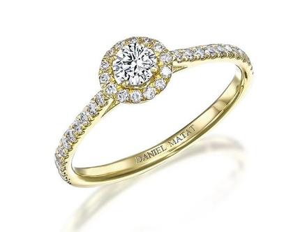 טבעת אירוסין יהלום / RA307
