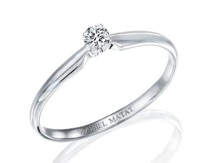 טבעת אירוסין יהלום / RA98