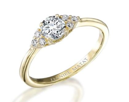 טבעת אירוסין יהלומים / RB305