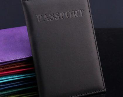 כיסוי לדרכון בצבע שחור. חדש!!!! חדש!!!!