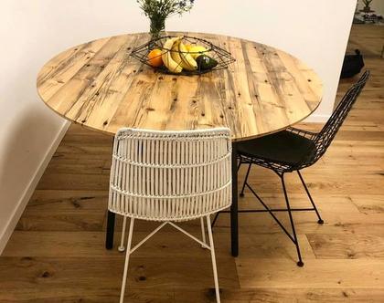 שולחן אוכל | שולחן אובלי | שולחן עץ