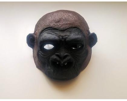 מסיכת קוף שימפנזה אביזרים משלימים לתחפושות