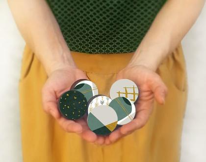 סט של ידיות 6-12 ידיות לבחירה, עיצוב נורדי, ידיות לארונות, ידיות לרהיטים, עיצוב הבית