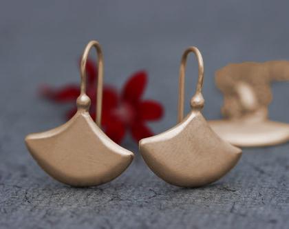 עגילי זהב אדום, עגילי זהב אמיתי, עגילים נופלים, עגילי זהב תלויים, עגילי זהב עבודת יד, עגילי זהב שיקים, עגילים לכלה, עגילים אלגנטים