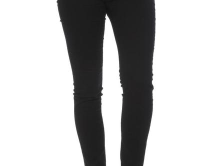מכנס קלאסי שחור פסים
