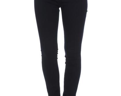 מכנס ג'ינס סקיני גיזרה גבוהה