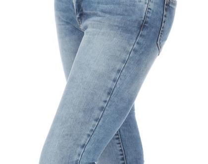 מכנס גינס ארוך בהיר