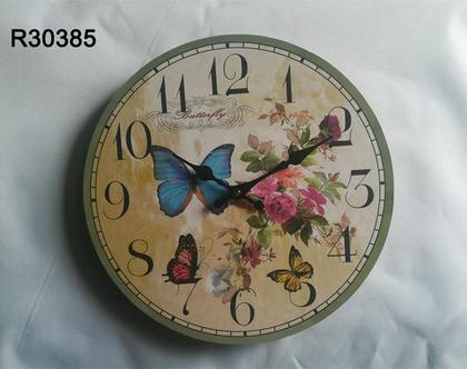 שעוני קיר בעיצובים שונים