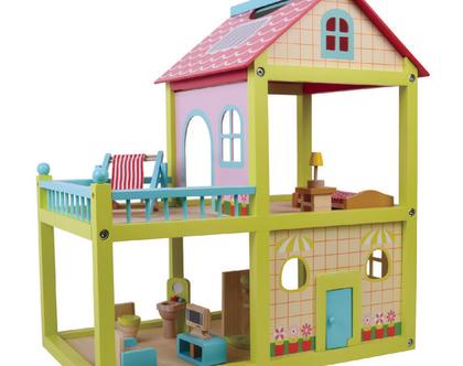 בית בובות צבעוני מפואר
