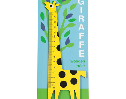 סרגל עץ ג'ירפה REX|SOFI