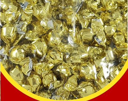 סוכריות יהלום זהב בטעם פירות