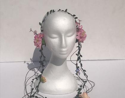קשת לתחפושת מלכת הפרחים / מלכת היער