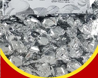 סוכריות יהלום כסף בטעם פירות