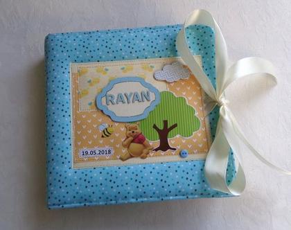 אלבום תמונות לגילאי 2-3 בנושא פו הדוב / אלבום לילד/ אלבום לילדה / מתנה לילד / מתנה לילדה