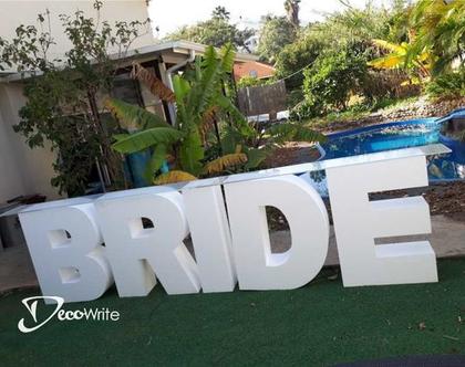 שולחן מתוקים BRIDE | שולחן לעיצוב בר מתוקים | מסיבת רווקות | חתונה
