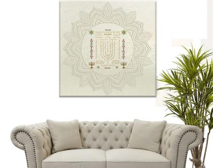 ברכת שיויתי - עיצוב מקורי | SHIVITI BLESSING| מתנה לבית חדש | מתנה למשרד