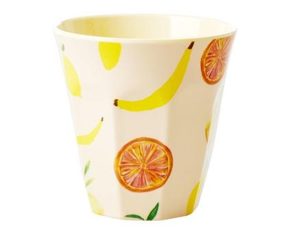 כוס מלמין טוטון בהדפס פירות שמחים | RICE DK | SOFI