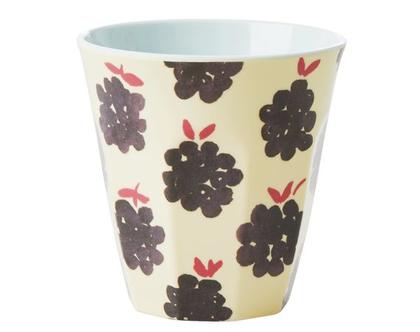 כוס מלמין טוטון בהדפס פטל | RICE DK | SOFI