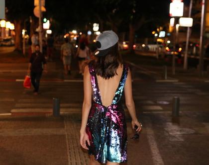 שמלת פייטים קלילה