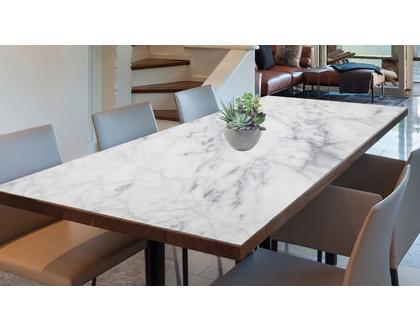מפת שולחן פי.וי.סי - Marble Pattern| מפת שולחן מעוצבת | מפת שולחן מבודדת חום | מפת שולחן בהתאמה אישית | מפות שולחן - טקסטורה שיש
