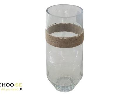 אגרטל זכוכית, ואזה לפרחים, כד לפרחים, אגרטל זכוכית, מתנה לחג, tks122