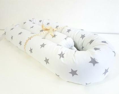 נחשוש כוכבים | מתנה ליולדת | נחשוש למיטת תינוק | מגן ראש למיטת תינוק | מתנה לתינוק |