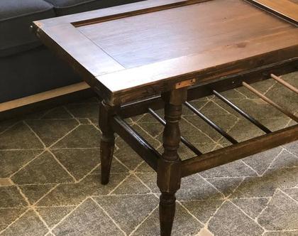 שולחן דלת מעץ מלא