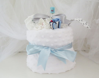 מארז מתנה ליולדת , מתנת לידה , מארז לתינוק , מארז ליולדת , שמיכה לבנה לתינוק