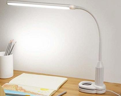 מנורת שולחן איכותית מתכוונת לכל מטרה לד 5W 24אור לבן