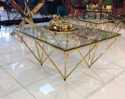 שולחן – TRIANGLE זהב