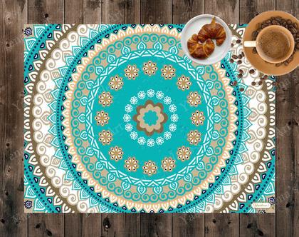 פלייסמט מעוצב - לשולחן האוכל | פלייסמט מבודד חום | פלייסמט בעיצוב מקורי