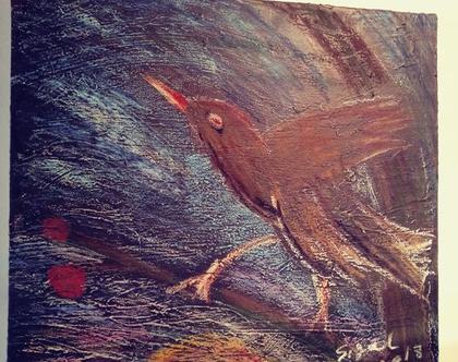 ציור בחומרים שונים