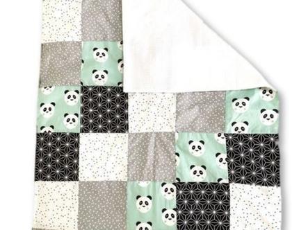 שמיכה לתינוק | שמיכת טלאים | שמיכת פיקה | שמיכת מעבר | שמיכת קיץ | שמיכה לבן ולבת | שמיכה פנדה טורקיז